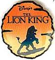Lion King sun round silhouette Authentic Disney Pin/Pins