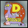 Disney Figment dragon Discover CM Never Sold  Pin/Pins