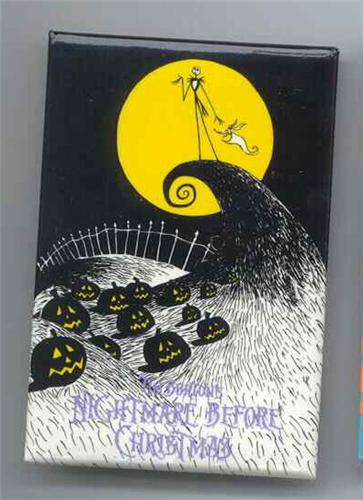 nightmare before christmas - jack on hill usher pin