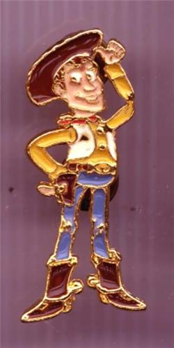 Disney Toy Story 1 Woody cowboy Rare Pin/Pins