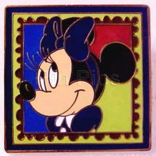 Disney  Minnie Mouse stamp retired  Pin/Pins