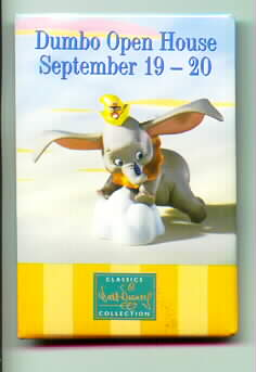 Disney WDCC  Dumbo the Flying Elephant promo pin/pins