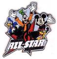 Disney WDW Disney's All Star Resorts (FAB 4)  pin/pins