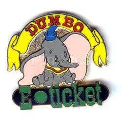 Disney WDW - Dumbo E-Ticket  pin/pins