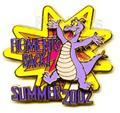 Disney Figment  WDW - Figment Is Back  LE pin/pins