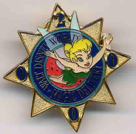 Disney WDW Magic Delivery Tinkerbell Gift pin/pins