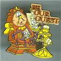 Disney Beauty & Beast Be Our Guest  Rare Pin/Pins