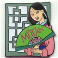 Disney Mulan dated 1998 Pin/Pins