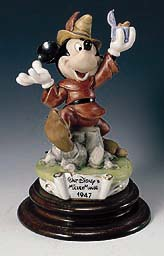 Disney Capodimonte Mickey Mouse 1947 Ltd Ed