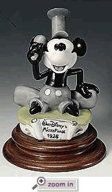 Disney Laurenz Capodimonte Mickey Steamboat Willie