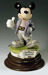 Disney Laurenz Capodimonte Mickey Mouse 1988