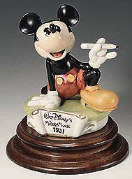 Disney Laurenz Capodimonte Mickey Mouse 1931
