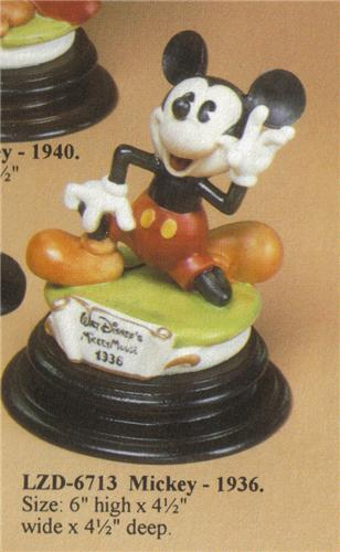 Disney Laurenz Capodimonte Mickey Mouse 1936