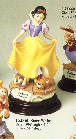 Disney Laurenz Capodimonte Disney Snow White