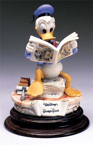 Disney Capodimonte Donald Duck Comic