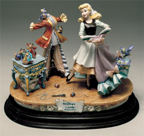 Disney Laurenz Capodimonte Cinderella Dress Figurine
