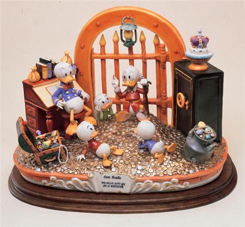 Disney Capodimonte Uncle Scrooge  Figurine