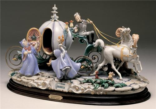 Disney Capodimonte Cinderella with Coach