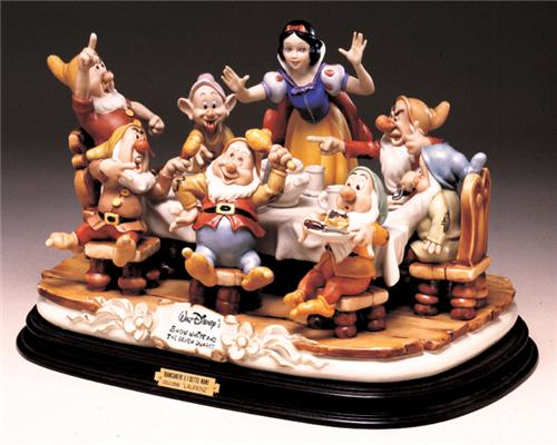 Disney Laurenz Capodimonte Disney Snow White Dinner