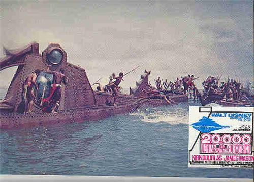 20,000 Leagues Under The Sea Battle Lobby Card