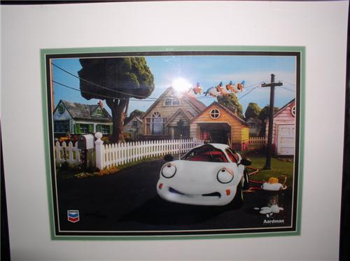 Chevron Car Coke Animation Art Ltd Ed