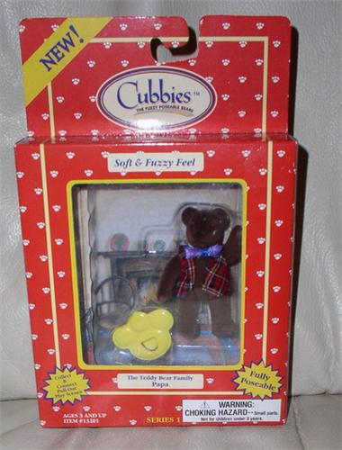 Cubbies Bear soft and Fuzz feel Mint In Box