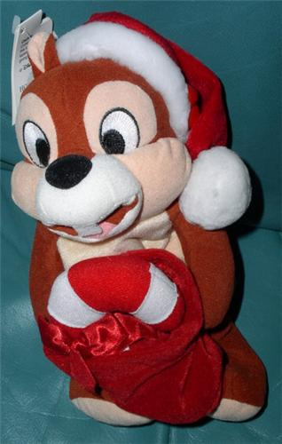 Disney  Chip Holiday Chip & Dale Bean Bag