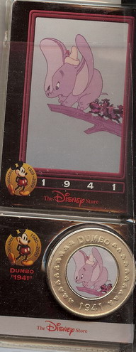 Disney  Dumbo dated 1941 Decades Coin