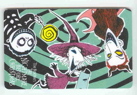 Disney  Nightmare Before Christmas LSB Bookmark