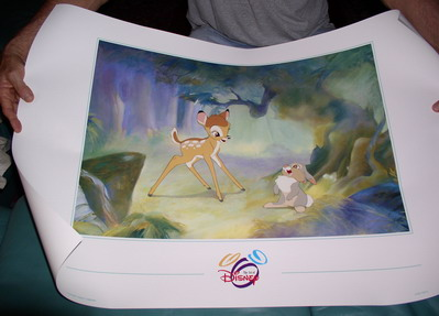 Disney Bambi & Thumper in the Woods Poster
