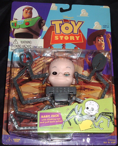 disney crawling baby face toy story 1 action figurine. Black Bedroom Furniture Sets. Home Design Ideas