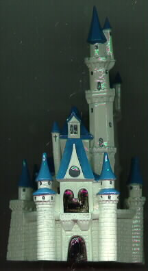Disney Dealer Display Cinderella Castle  Figurine