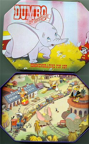 Disney Dumbo 55 Commemorative Set 6 Pin/Pins