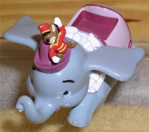 Disney Dumbo and Timothy Die Cast Metal Ride Original Packing Mint
