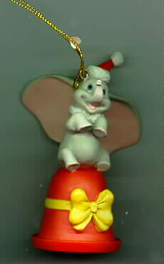 Disney Dumbo on a bell Figurine