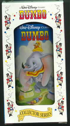 Disney Dumbo Timothy  Train Glass