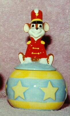 Disney Dumbo Timothy Mouse sugar bowl Porcelain