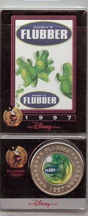 Disney Flubber dated 1997 coin