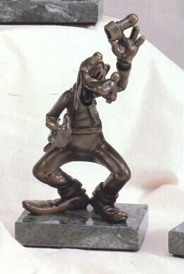 Disney Goofy Bronze LE 75 Chilmark