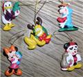 Disney Goofy Donald Pluto Mickey Mini 5 Miniatures