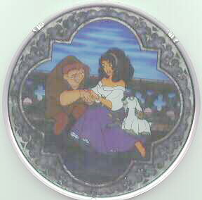 Disney Hunchback of Notre Dame Stained Glass