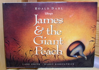 Disney James And theGiant  Peach Book