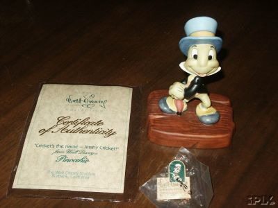 Disney Jiminy Cricket WDCC from Pinocchio  Membership