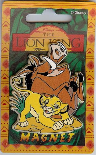Disney Lion King Simba & Pumba the Pig Magnet Rare