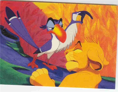 Disney Lion King Simba and Zazu