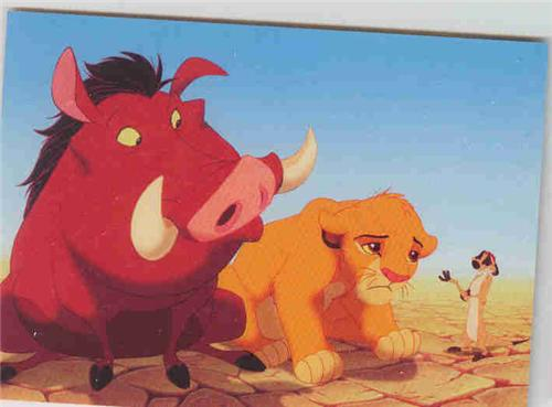 Disney Lion King Simba Pumba the pig Timon
