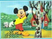 Disney Mickey Mouse by tree 3d WDC Print Germany