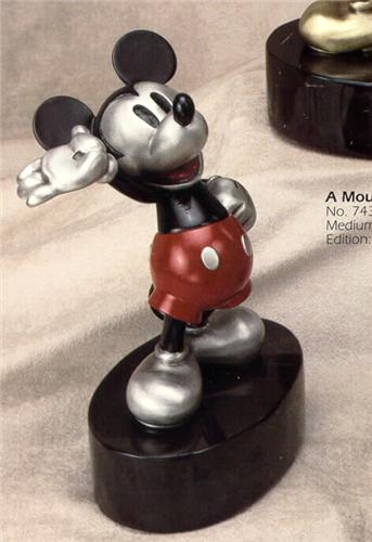 Disney Mickey Mouse LT ED 500 Pewter Chilmark
