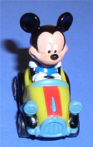 Disney Mickey Mouse race Car Hot new miniature cheap