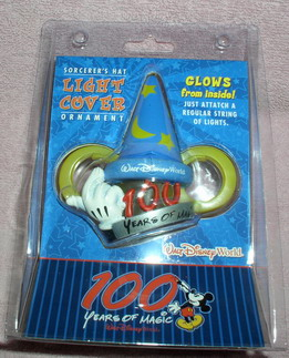 Disney Mickey Sorcerer 100 Yearslight cover ornament